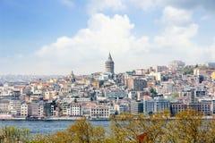 Paisaje urbano, Estambul, Turquía Foto de archivo libre de regalías