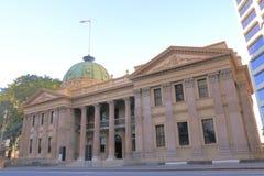 Paisaje urbano histórico Brisbane Australia de la arquitectura Imagenes de archivo