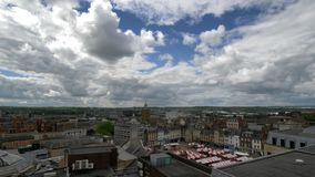 Paisaje urbano Inglaterra, Reino Unido de Northampton Town fotografía de archivo