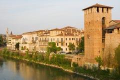 Paisaje urbano italiano. Verona. Imagenes de archivo
