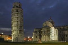 La torre de Pisa Fotos de archivo libres de regalías