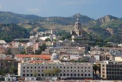 Paisaje urbano Messina Imagen de archivo