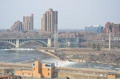 Paisaje urbano Minneapolis Minnesota Imagenes de archivo