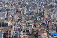 Paisaje urbano Nepal de Katmandu Fotografía de archivo libre de regalías