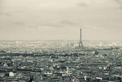 Paisaje urbano, París Foto de archivo