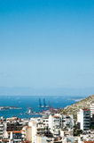 Paisaje urbano, Pireo, Grecia fotografía de archivo