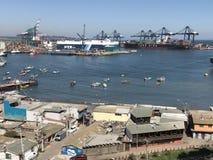 Paisaje, paisaje urbano, puerto y habour Fotos de archivo