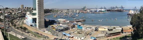 Paisaje, paisaje urbano, puerto y habour Foto de archivo