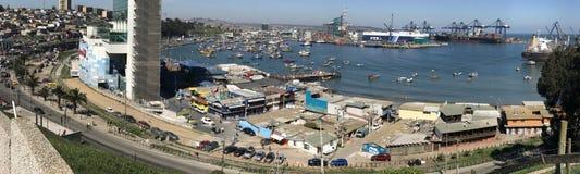 Paisaje, paisaje urbano, puerto y habour Fotografía de archivo