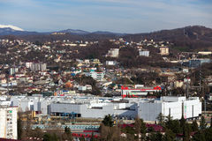 Paisaje urbano Sochi Rusia Imágenes de archivo libres de regalías