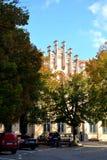 Paisaje urbano típico en Sibiu, capital europea de la cultura por el año 2007 Fotografía de archivo