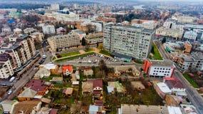 Paisaje urbano Vinnytsia, Ucrania Fotografía de archivo