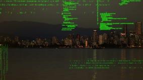 Paisaje urbano y códigos digitales metrajes