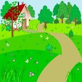 Paisaje verde. Imágenes de archivo libres de regalías