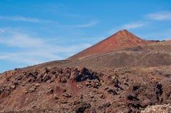 Paisaje volcánico en Lanzarote Imágenes de archivo libres de regalías