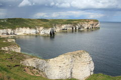 Paisaje y paisaje marino de Scarborough imagen de archivo libre de regalías