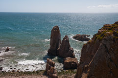 Paisajes Cabo DA Roca Foto de archivo