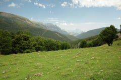 Paisajes de Aragonese Imagen de archivo libre de regalías