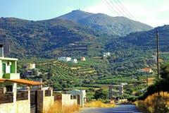 Paisajes de Creta foto de archivo libre de regalías