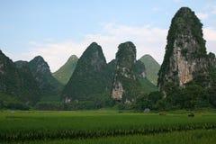 Paisajes de Gui-lin Imagenes de archivo