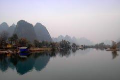 Paisajes de Guilin Foto de archivo libre de regalías