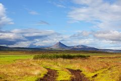 Paisajes de Islandia Imagen de archivo
