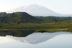 Paisajes de Kamchatkian Foto de archivo