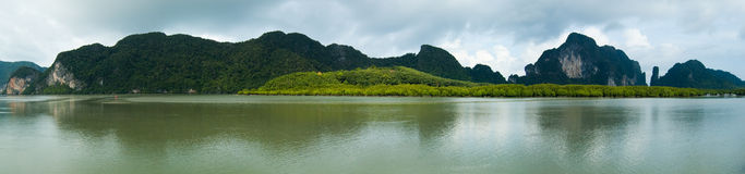 Paisajes de Krabi Fotos de archivo