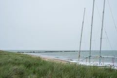 Paisajes de la isla de Nantucket, los E.E.U.U. Fotografía de archivo