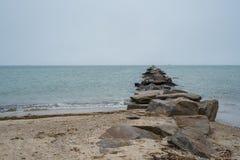 Paisajes de la isla de Nantucket, los E.E.U.U. Fotografía de archivo libre de regalías