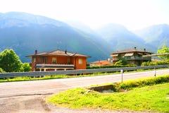 Paisajes de la montaña de Italia Fotografía de archivo libre de regalías