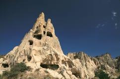 Paisajes de la roca de Cappadocia fotos de archivo