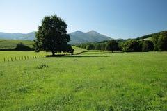 Paisajes de Navarra Imagenes de archivo