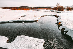 Paisajes de Ural Foto de archivo libre de regalías