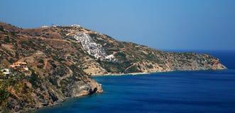 Paisajes del Cretan Foto de archivo libre de regalías