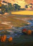 Paisajes del otoño Foto de archivo libre de regalías