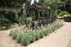 Paisajes en el jardín botánico de Missouri, ST Louis MO foto de archivo
