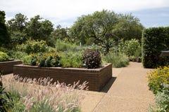 Paisajes en la opinión de jardín botánico de Missouri, ST Louis MO imagen de archivo libre de regalías