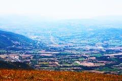Paisajes hermosos del Apennines Fotografía de archivo libre de regalías