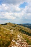 Paisajes hermosos del Apennines Imagen de archivo libre de regalías