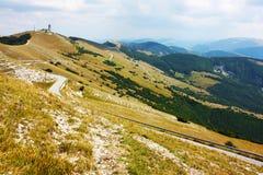 Paisajes hermosos del Apennines Imágenes de archivo libres de regalías