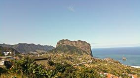 Paisajes maravillosos de Madeira Foto de archivo