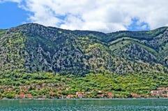 Paisajes maravillosos montenegrinos Fotografía de archivo libre de regalías