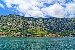 Paisajes maravillosos montenegrinos Imágenes de archivo libres de regalías