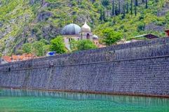 Paisajes maravillosos montenegrinos Foto de archivo
