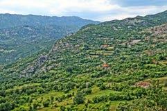 Paisajes maravillosos montenegrinos Foto de archivo libre de regalías
