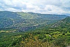 Paisajes maravillosos montenegrinos Fotografía de archivo