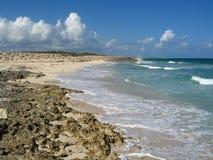 Paisajes marinos en Cozumel Fotos de archivo libres de regalías