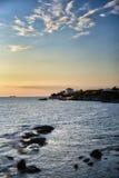 Paisajes marinos toscanos Imagen de archivo libre de regalías