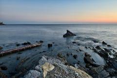Paisajes marinos toscanos Imagen de archivo